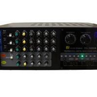 Hisonic Dual Channel MA-3800K Karaoke Amplifier for Mixing, 760W