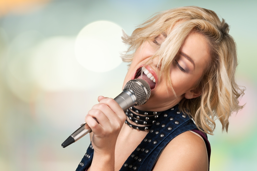 how to overcome shyness when singing