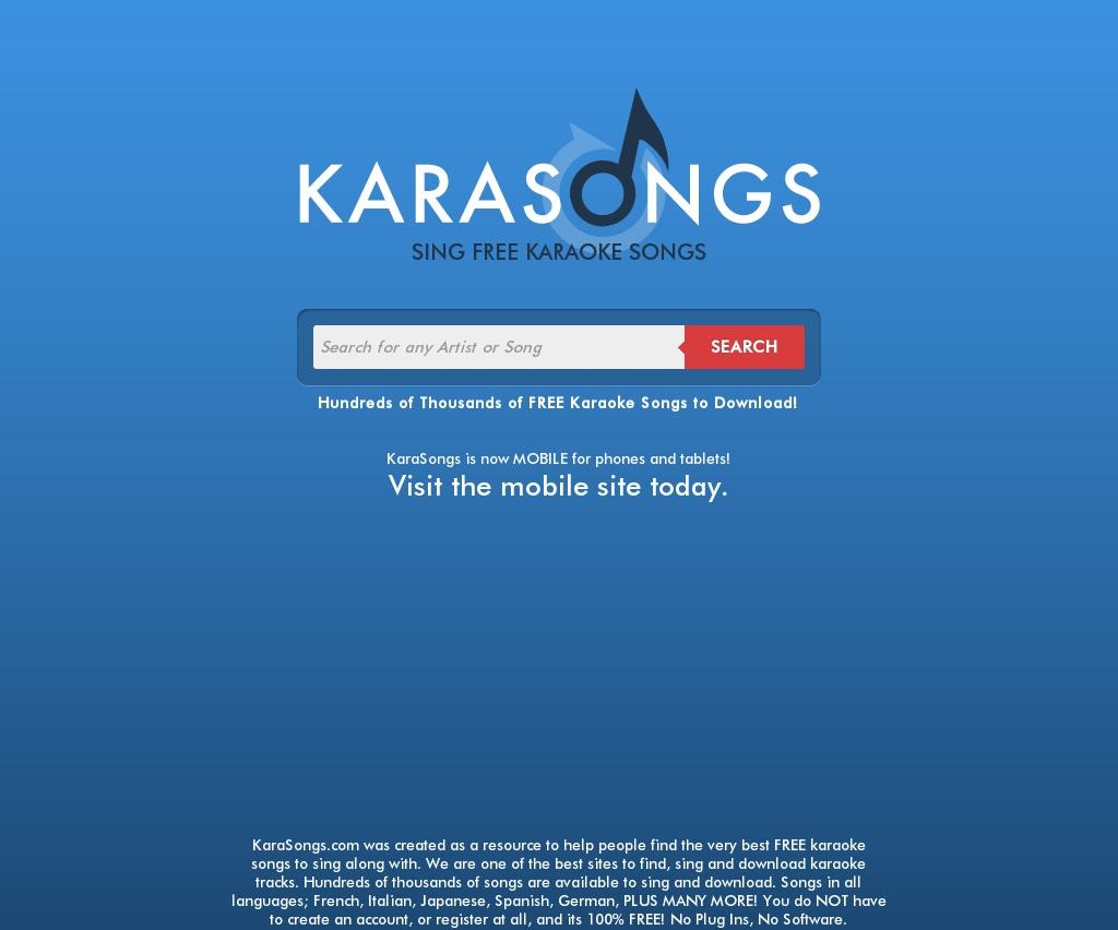 Karaoke online hindi